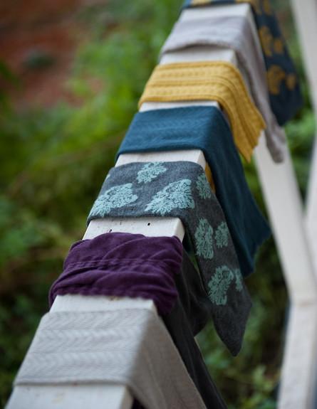 גרביים במרפסת 4 (צילום: דנה ישראלי)