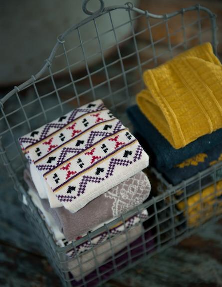 גרביים בסלסלה 1 (צילום: דנה ישראלי)