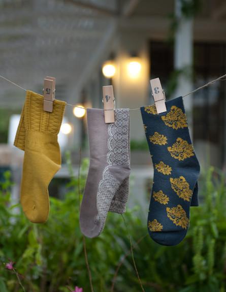 גרביים על החבל 5 (צילום: דנה ישראלי)