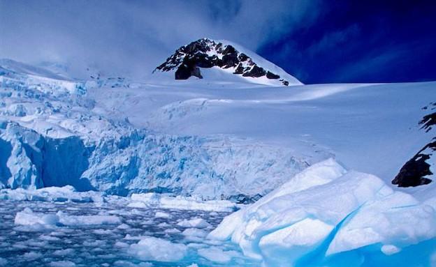 אנטארקטיקה מתחממת (צילום: צילום מסך daily mail)