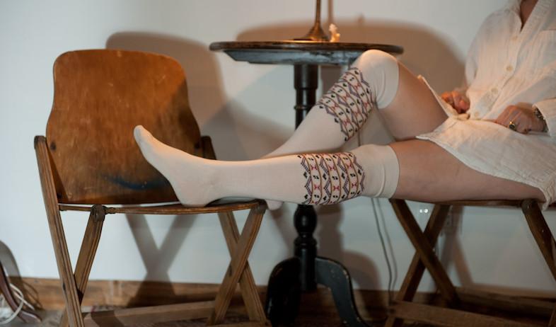 גרביים על הכיסא 6 (צילום: דנה ישראלי)