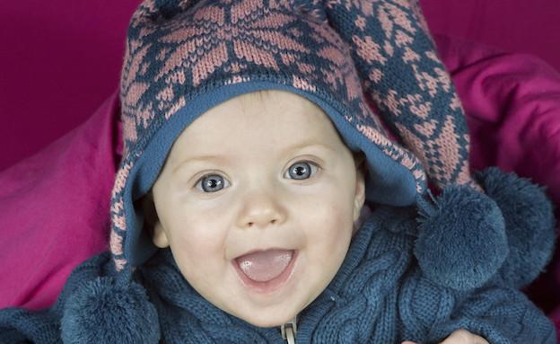 תינוק בבגדי חורף (צילום: isky, GettyImages IL)