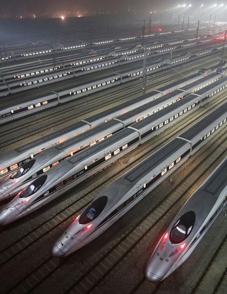 רכבת סין (צילום: RTR)