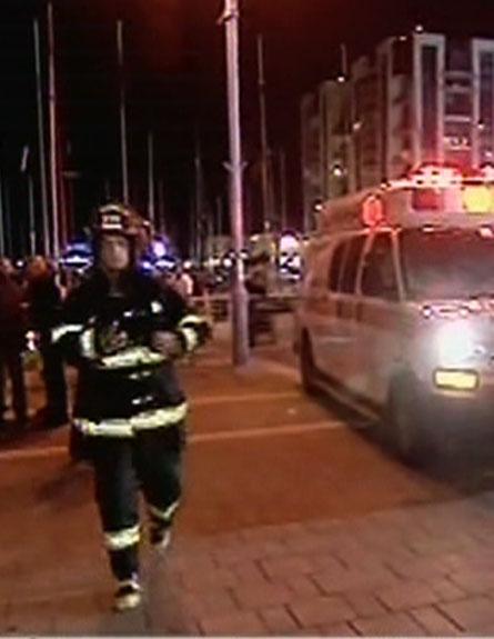 המרינה בהרצליה לאחר השריפה (צילום: חדשות 2)