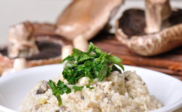 ריזוטו צמחוני (צילום: יפית בשבקין, אוכל טוב)