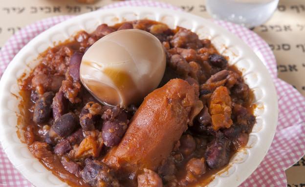 חמין צמחוני נטול גלוטן (צילום: שירן כרמל, יריד האוכל של דיזנגוף סנטר )
