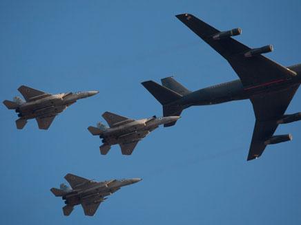 מטוסי חיל האוויר. ארכיון (צילום: AP)