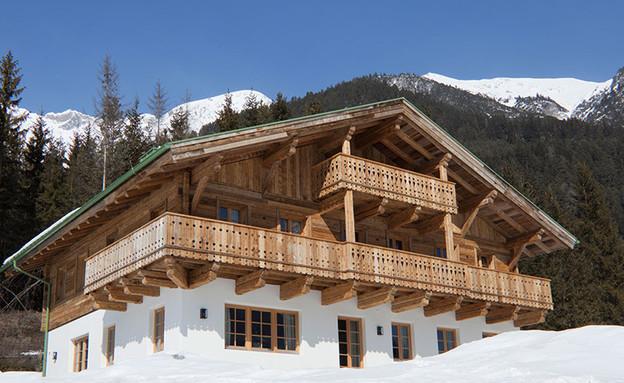 בקתות אוסטריה (צילום: מתוך האתר www.luxuryretreats.com)