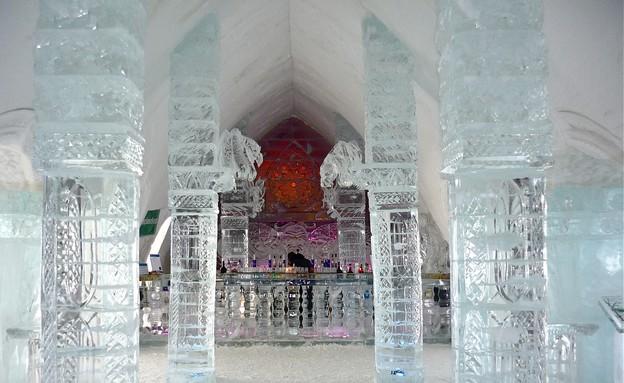 ברים מוזרים (צילום: מתוך האתר www.hoteldeglace-canada)