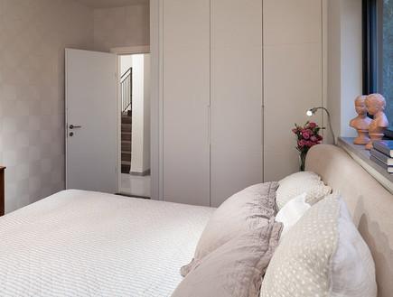 שרון אלה,חדר שינה מיטה (צילום: שי אפשטיין)