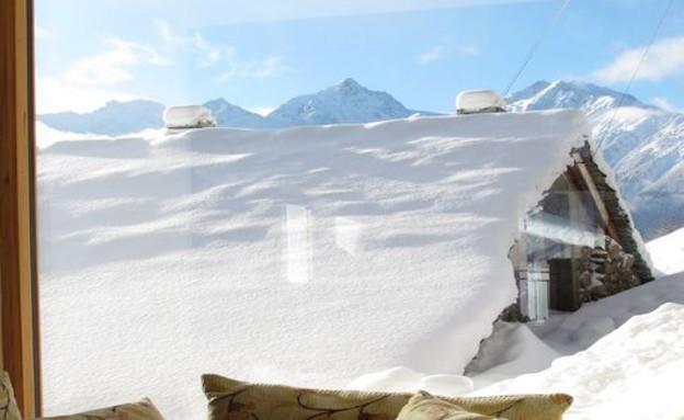 בקתות שוויץ (צילום: מתוך האתר alpineguru.com)