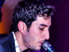 אדיר גץ הופעה בחיפה (צילום: מוטי וולמן)