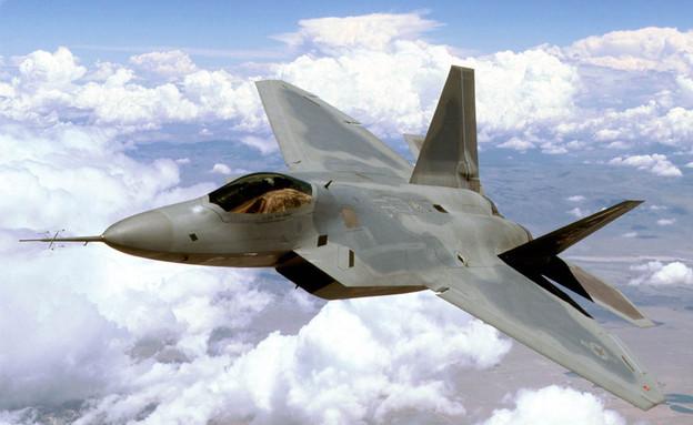 מטוס חמקן F22 (צילום: USAF, GettyImages IL)