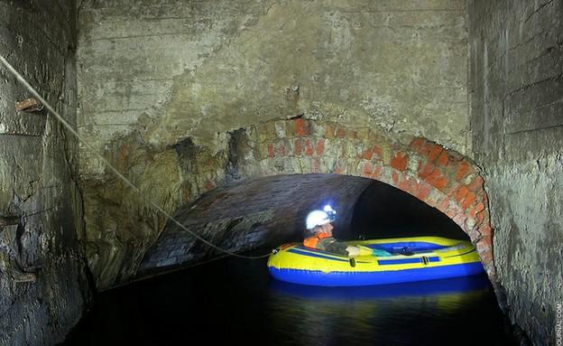 נהר הריבנקה הסודי מתחת למוסקבה