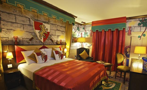 חדר הממלכה, מלון הלגו (צילום: mako)