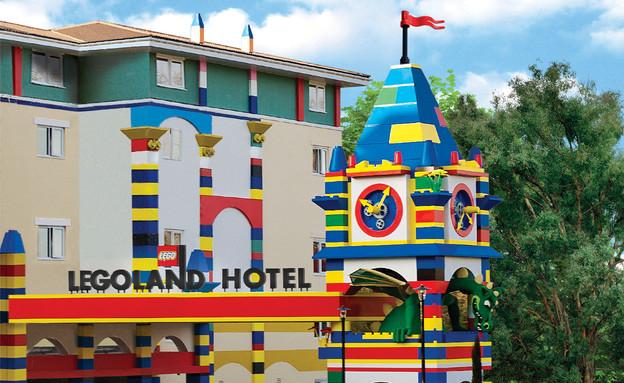 מלון הלגו (צילום: mako)