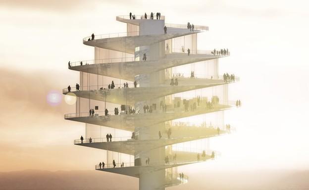 מגדל התצפית בפיניקס (צילום: telegraph.co.uk)