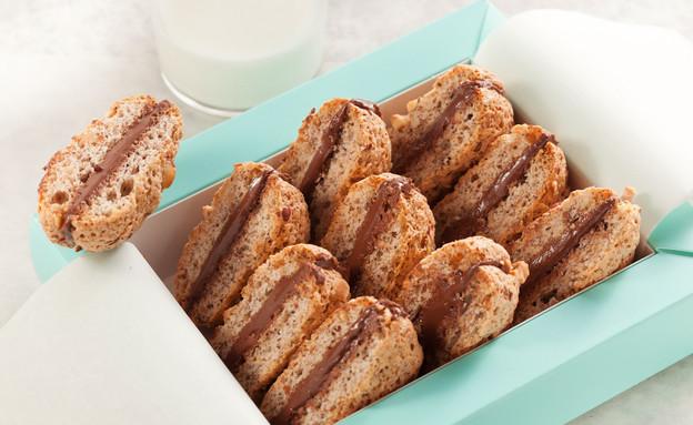 עוגיות זילוף, אלון גולדמן (צילום: בני גם זו לטובה, אוכל טוב)