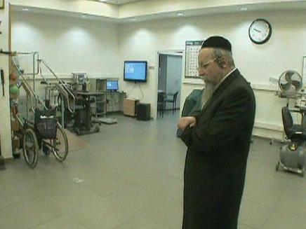 הרב פירר בבית החולים, השבוע
