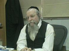 הרב פירר, השבוע (צילום: חדשות 2)