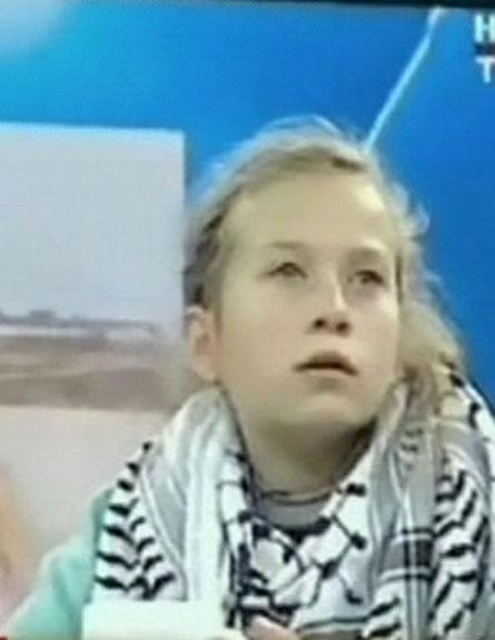 מתראיינת לטלוויזיה הטורקית (צילום: חדשות 2)