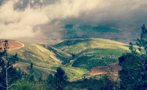 חורף בדרום לבנון (צילום: אייל גלזר)
