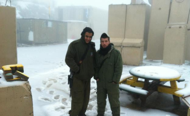 חיילים בהר דב (צילום: יורה פופוב)