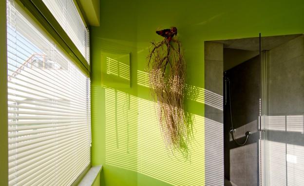 לופט תא, חדר רחצה (צילום: אילן נחום)