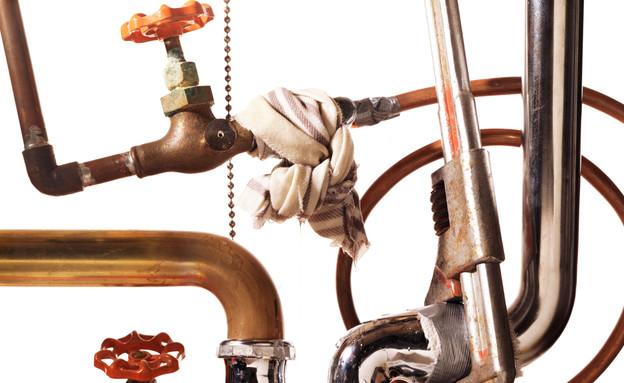 צינורות אינסטלציה (צילום: Thinkstock)