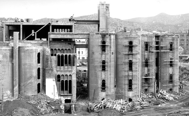 מפעל בטון, לפני (צילום: ricardobofill.com)