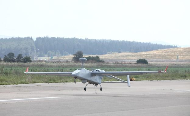 מטוס סרצר (צילום: התעשיה האווירית)
