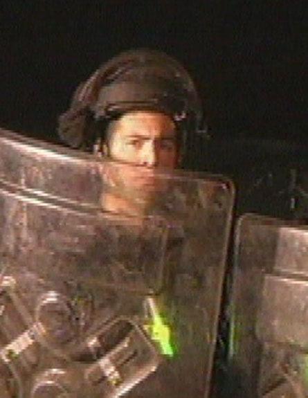 צפו בפינוי באב א-שמס, הלילה (צילום: חדשות 2)