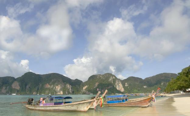 חוף, קו לנטה (צילום: realsimple.com)