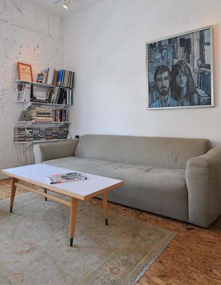 דן טרוים, ספה (צילום: שי אדם)