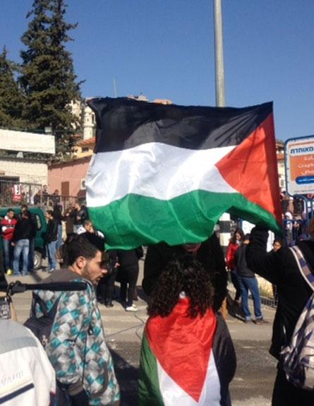הפגנה מוסמוס (צילום: חדשות 2)