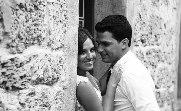 החתונה של עמית ויוגב (צילום: ארז שטיינר)