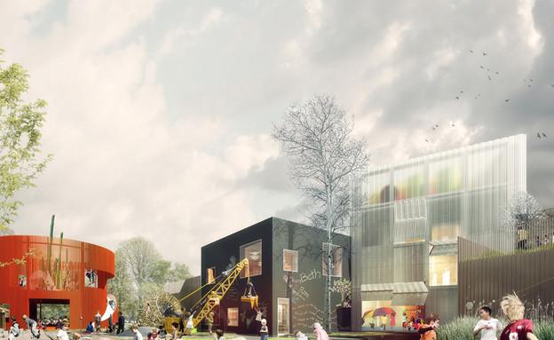 עיר הילדים, משחקים (צילום: www.cobe)