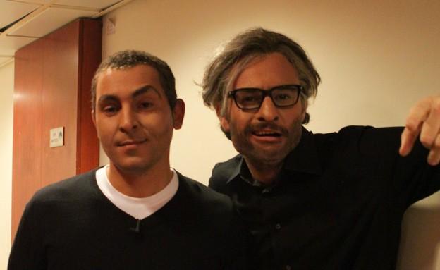 מאור כהן ומריאנו (צילום: מיכל אפרתי)