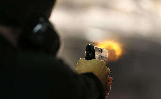 ירי בנשק חם (צילום: George Frey, GettyImages IL)