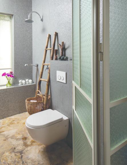 איה צאלים, דלת לשירותים (צילום: טל ניסים)