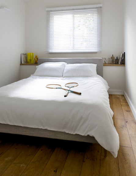 נורדאו, חדר שינה לבן (צילום: גדעון לוין)