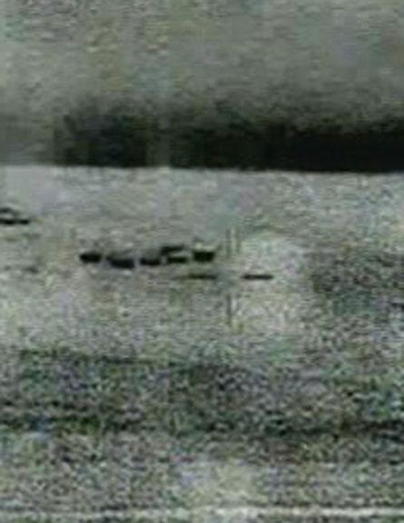 צפו בתיעוד מהמסוק המשטרתי (צילום: חדשות 2)
