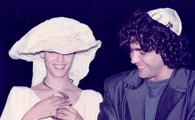 יאיר וליהיא לפיד בחתונה