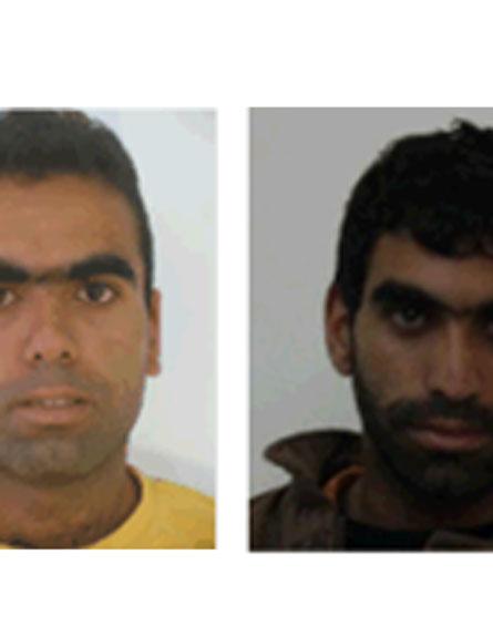 """שני האחים שהפעילו את חוליית הטרור (צילום: דוברות שב""""כ)"""