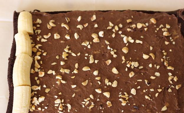 רולדת שוקולד ובננה - רגע לפני הגלגול (צילום: חן שוקרון, אוכל טוב)