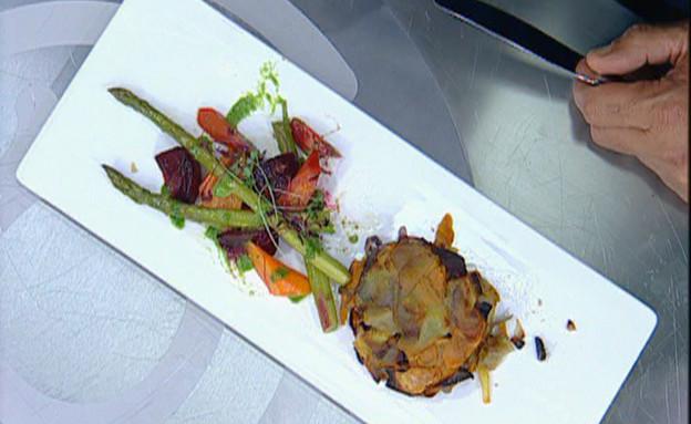 לביבות ירקות שורש ופטריות (תמונת AVI: mako)