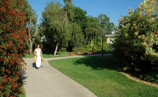מדשאות במלון פסטורל