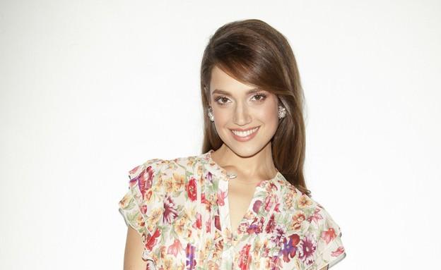 """מרינה מאקסימיליאן בלומין לעוד קמפיין של עונות (צילום: דודי חסון למגזין """"Bellemode"""")"""
