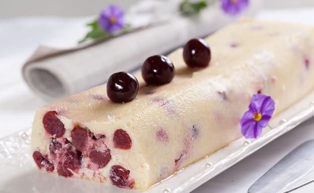 עוגת גבינה ודובדבנים (צילום: בני גם זו לטובה, אוכל טוב)