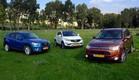 ג'יפונים: CX-5, ספורטאז', קשקאי, אאוטלנדר (צילום: נעם וינד)